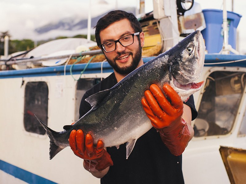 The Chef & The Fisherman Featuring Marsh Skeele from Sitka, Alaska