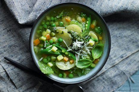 springtime minestrone