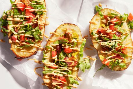 blt stuffed potato