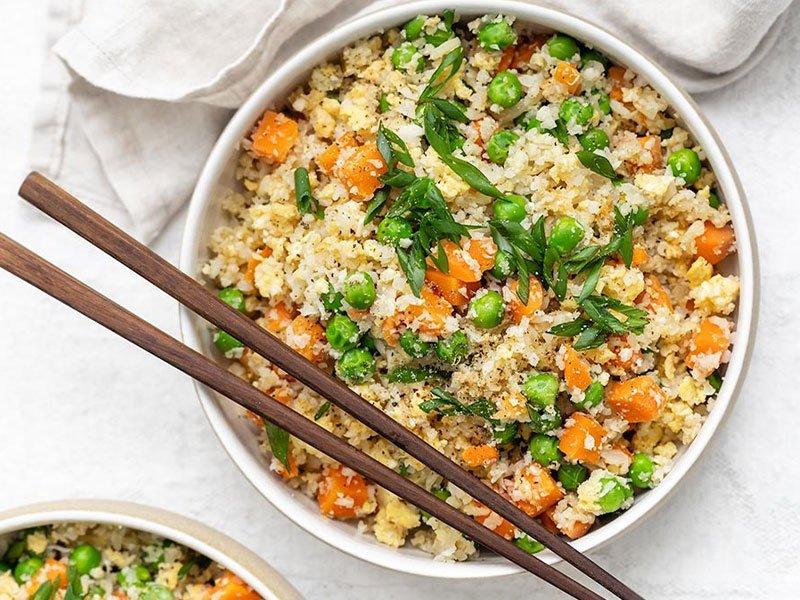 11cauliflower rice