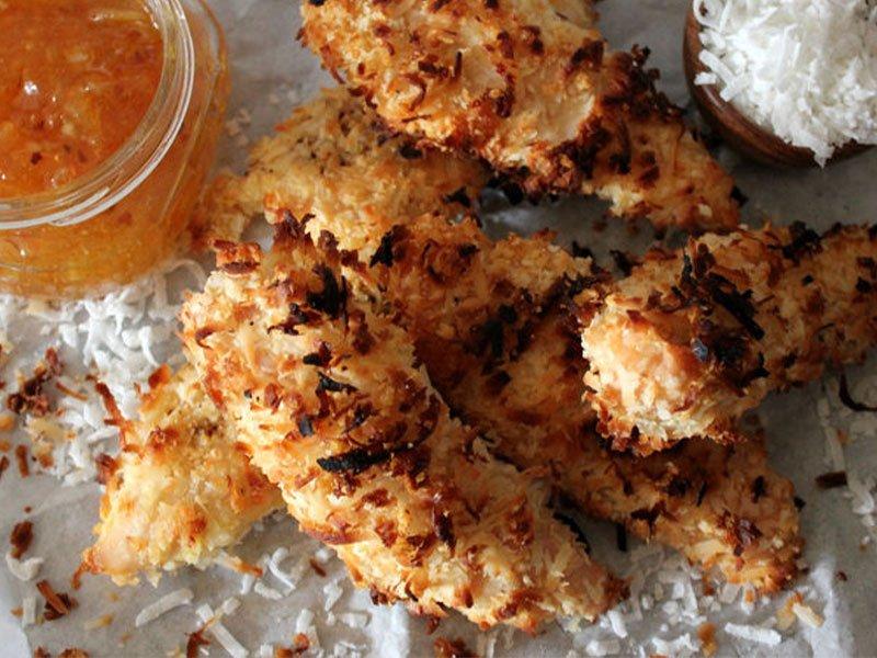 11coconut chicken finger