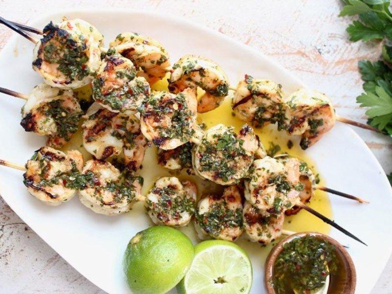 11shrimp kabob