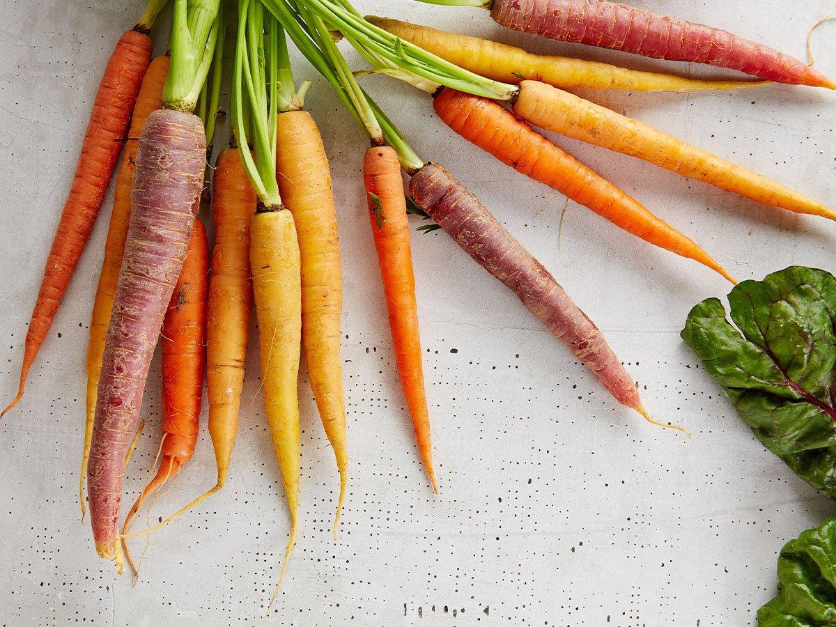 orange-colored produce